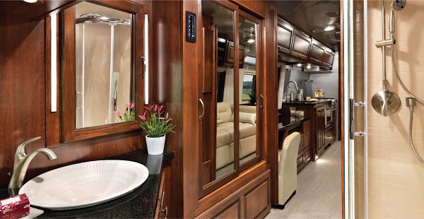 Interior of Airstream Classic